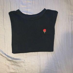 Aritzia embroidered T-shirt